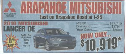 Arapahoe Mitsubishi